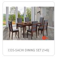 COS-SACHI DINING SET (1+6)